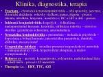 klinika diagnostika terapia