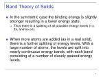 band theory of solids11