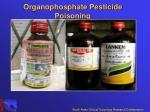 organophosphate pesticide poisoning3