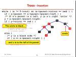 trees insertion11