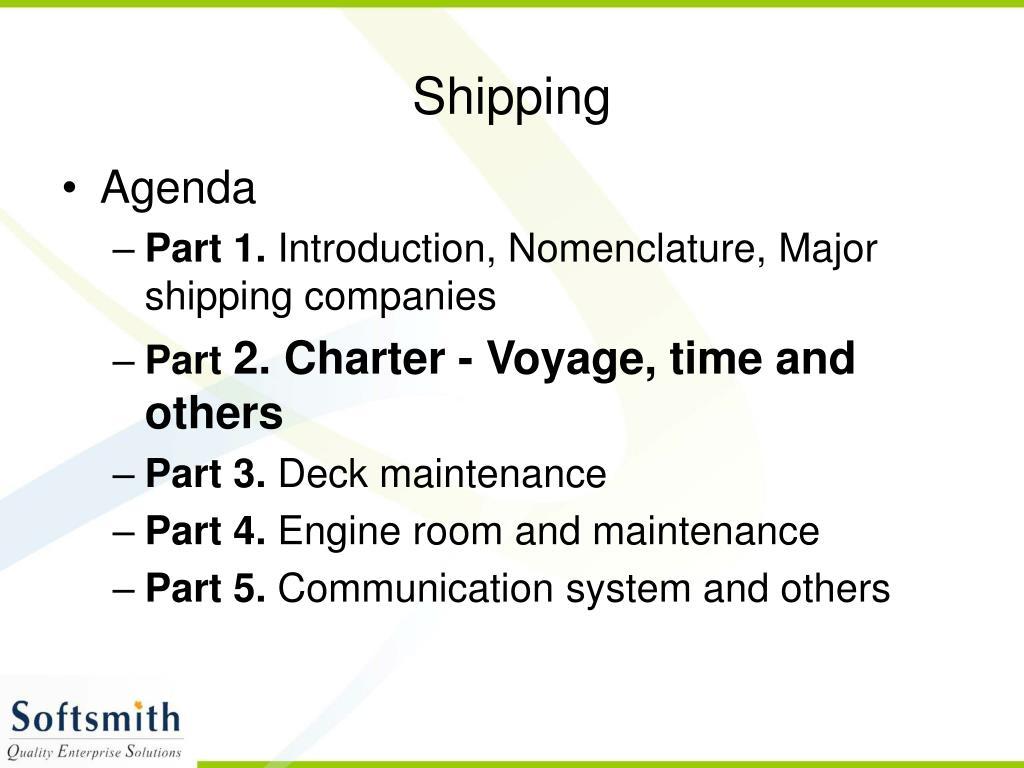 shipping l.