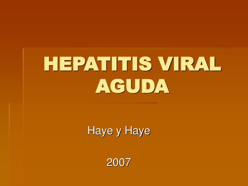 hepatitis viral aguda l.