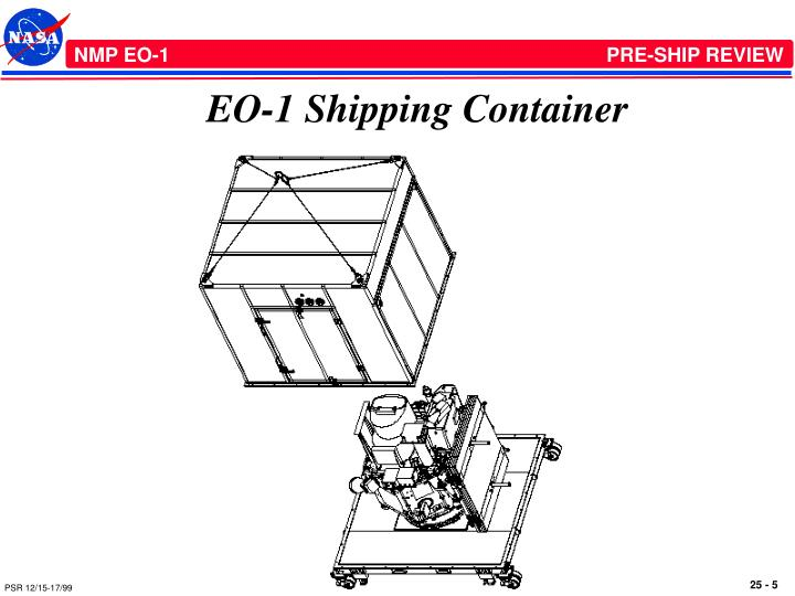 EO-1 Shipping Container