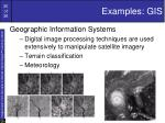 examples gis