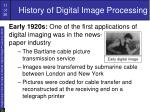 history of digital image processing