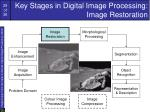 key stages in digital image processing image restoration