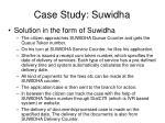 case study suwidha2