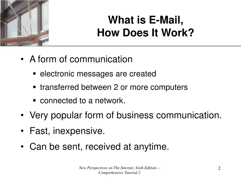 What is E-Mail,