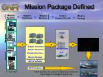 mission package defined