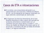 casos de eta e intoxicaciones9