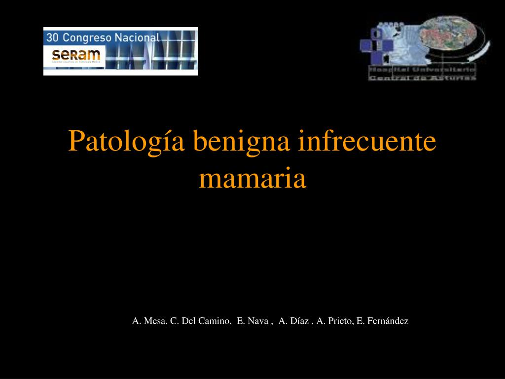 patolog a benigna infrecuente mamaria l.