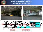 aviation maintenance hangar high hat
