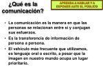 qu es la comunicaci n