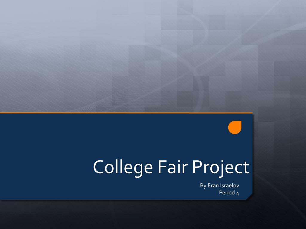 college fair project l.