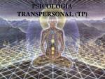 psicolog a transpersonal tp
