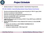 project schedule21