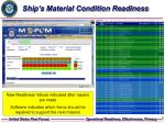 ship s material condition readiness