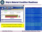 ship s material condition readiness26