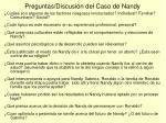 preguntas discusi n del caso de nandy