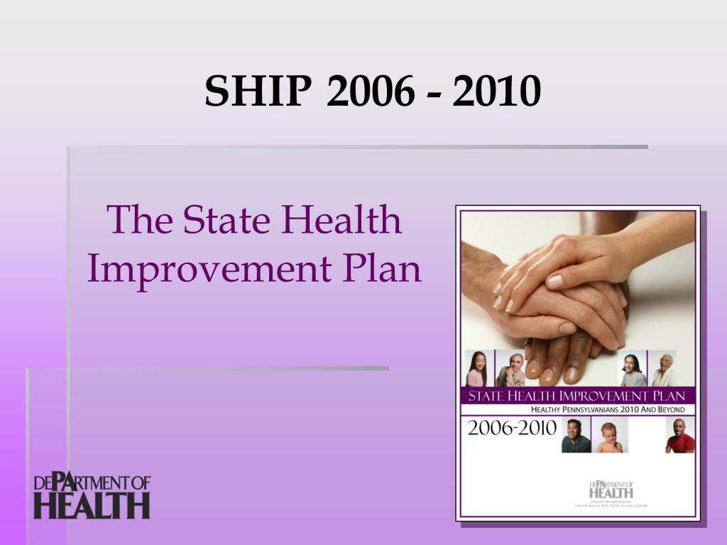 the state health improvement plan l.