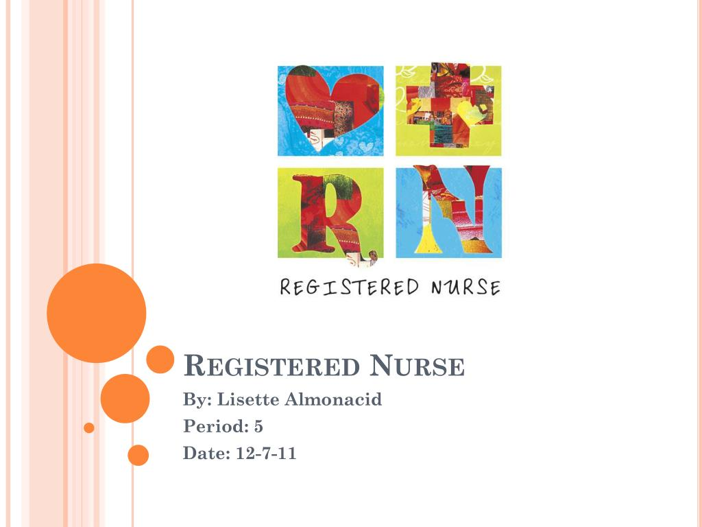 registered nurse l.