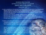 oilseed processors level playing field coalition joint declaration september 2005