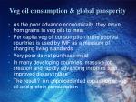 veg oil consumption global prosperity