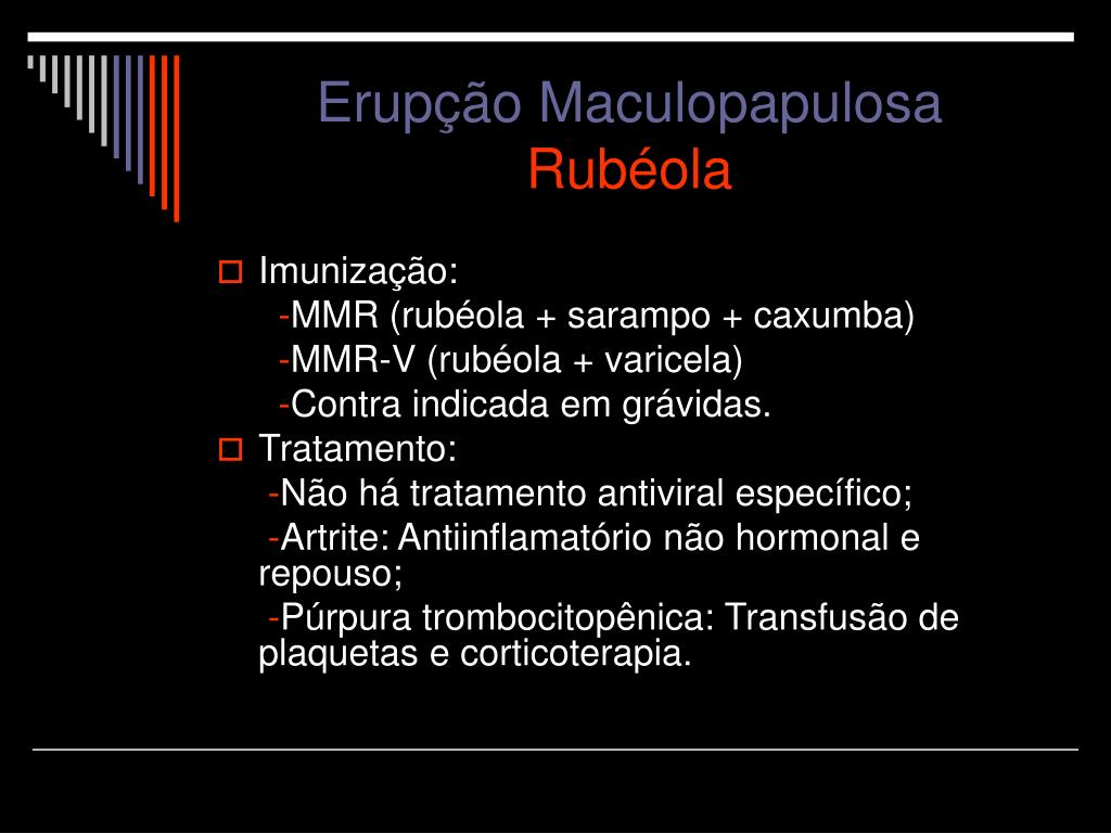 Erupção Maculopapulosa