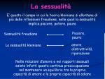 la sessualit