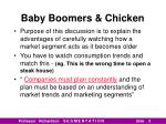 baby boomers chicken