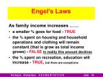 engel s laws