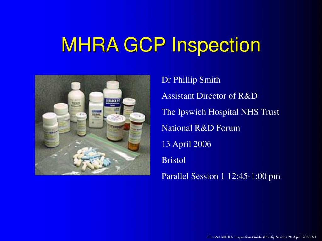 mhra gcp inspection l.
