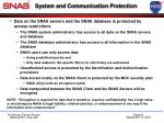system and communication protection