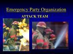 emergency party organization26