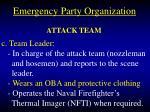 emergency party organization27