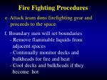 fire fighting procedures40