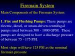 firemain system56