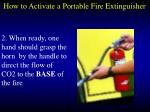 how to activate a portable fire extinguisher89