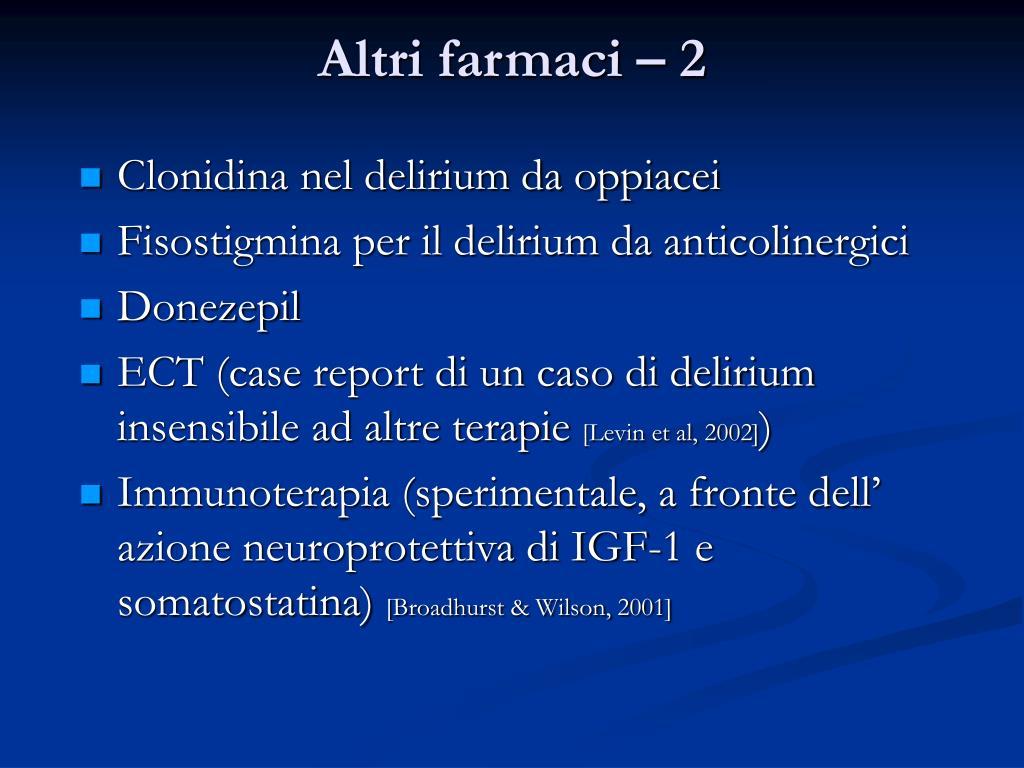 PPT - Delirium: i diversi sottotipi clinici di delirium..