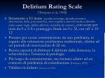 delirium rating scale trzepacz et al 1988