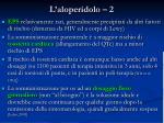 l aloperidolo 2