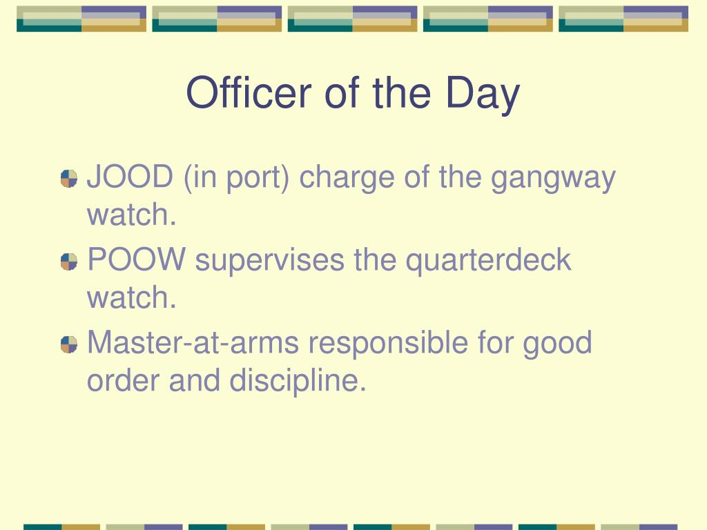 Officer of the Day