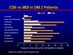 csii vs mdi in dm 2 patients