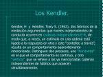 los kendler