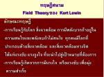 field theory kert lewin