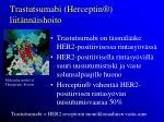 trastutsumabi herceptin liit nn ishoito