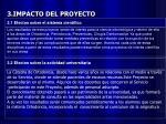3 impacto del proyecto