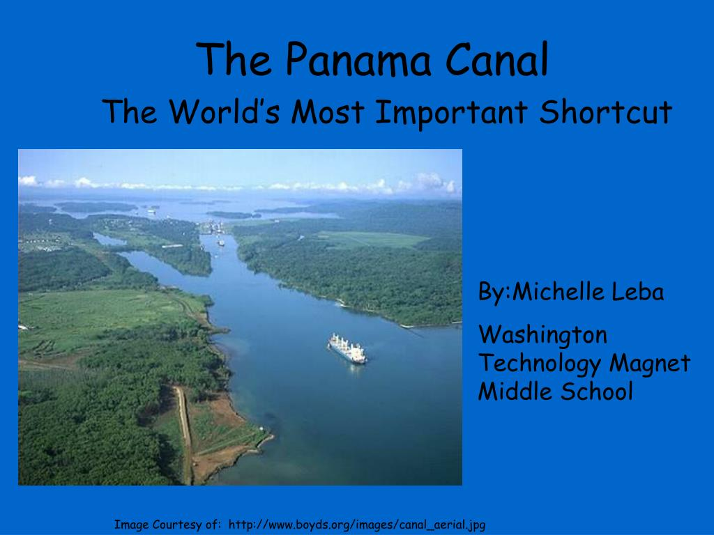 the panama canal l.