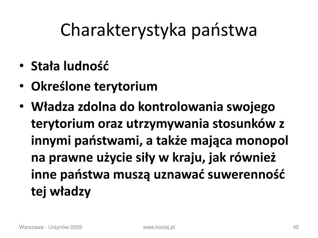 Charakterystyka państwa