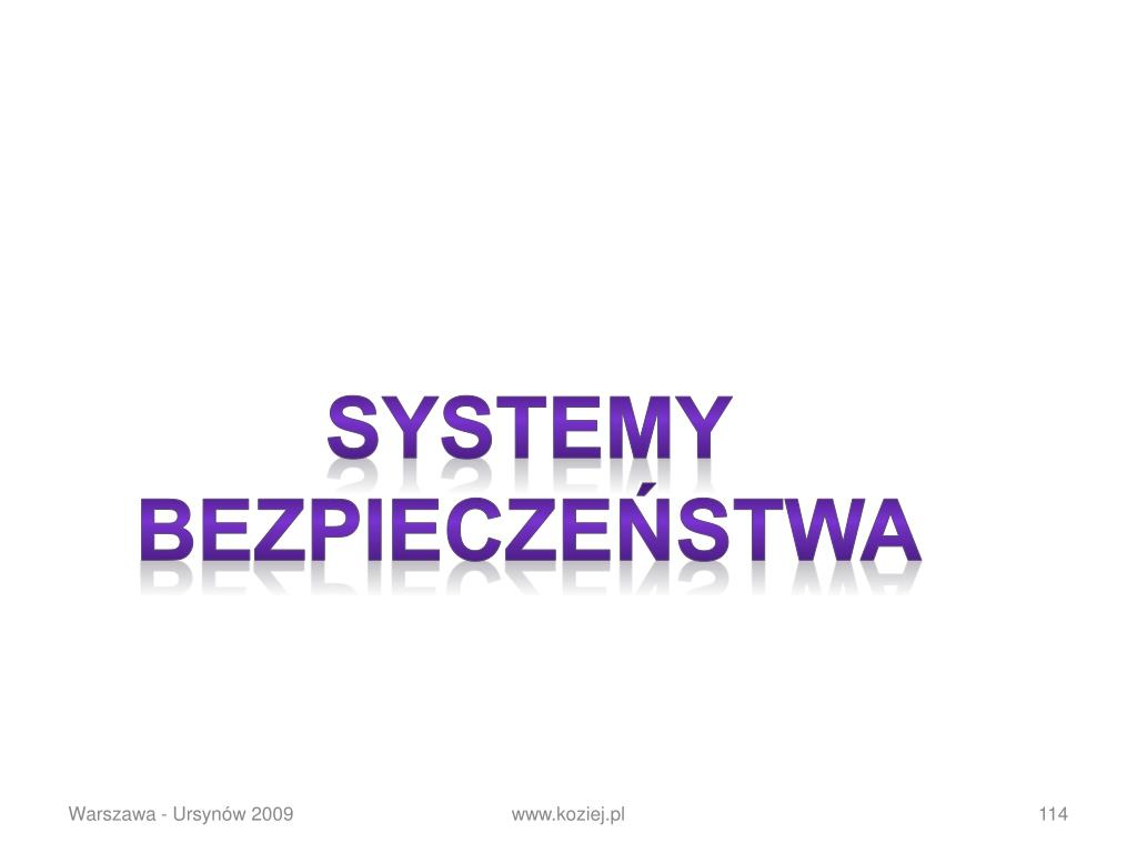 SYSTEMY